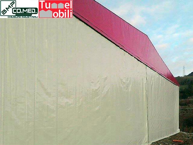 tunnel mobili a salerno con bmp CO.MED
