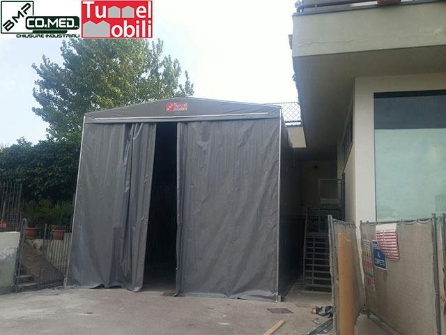 capannoni mobili frontali B.M.P CO.MED