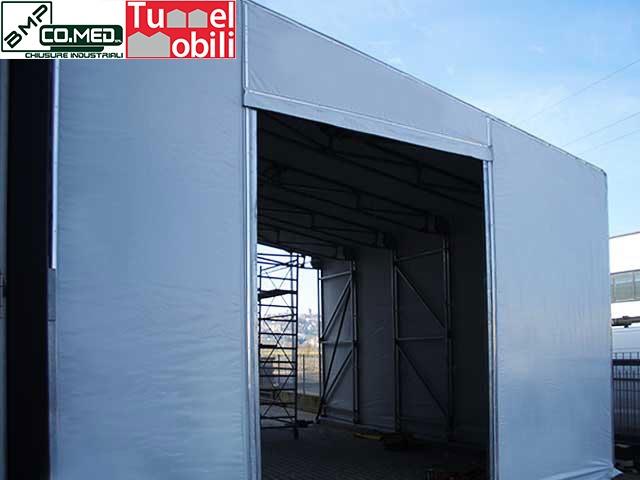 capannoni mobili monopendenza laterale consulenza in Campania