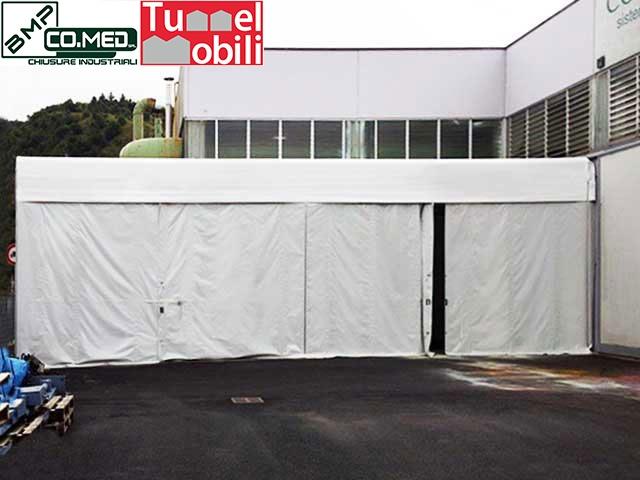 Capannoni mobili pvc tunnel mobili per aziende di combustibili for Aziende di mobili
