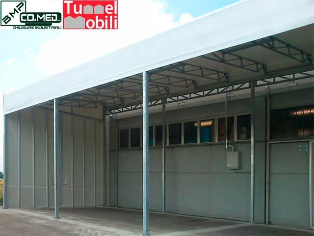 capannoni mobili monofalda sospesa consulenza B.M.P CO.MED