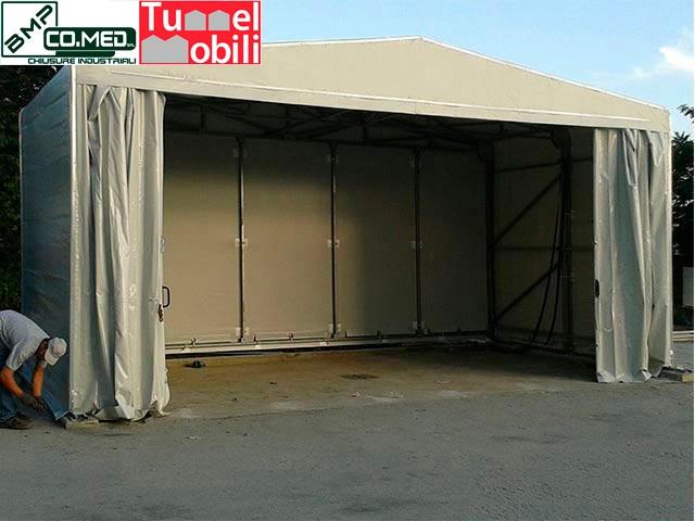 capannoni mobili speciali in Campania consulenza B.M.P CO.MED