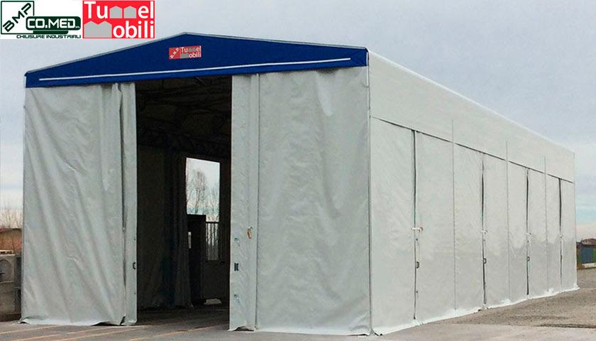 capannoni mobili firmati Tunnel Mobili