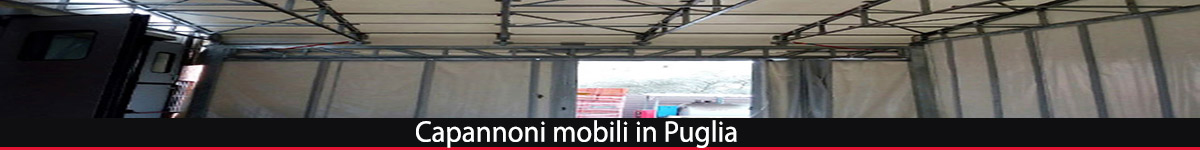 capannoni mobili Puglia