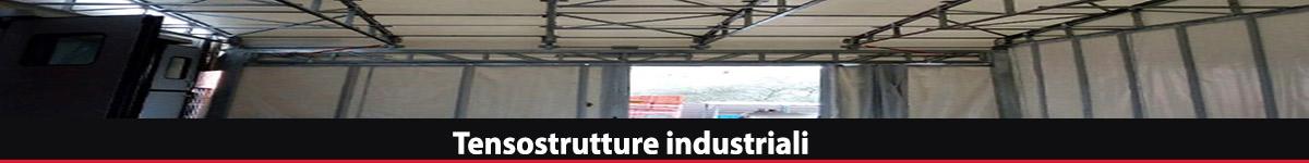 Tensostrutture industriali pvc