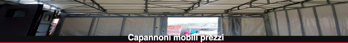 Capannoni mobili prezzi tunnel mobili in campania for Capannoni in legno prezzi