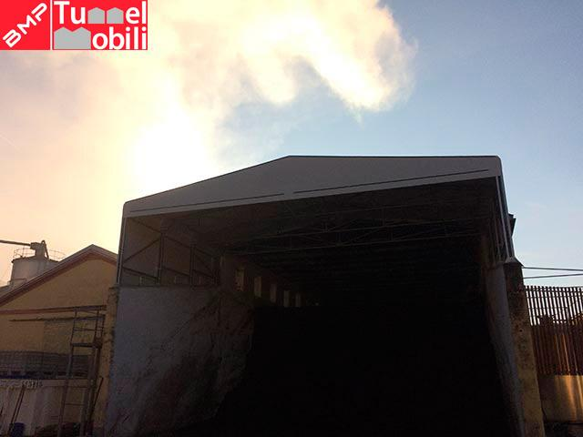 capannoni mobili speciali in Campania consulenza Tunnel Mobili