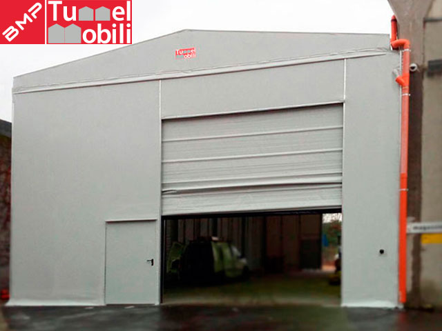 capannoni in pvc Tunnel Mobili grande distribuzione organizzata