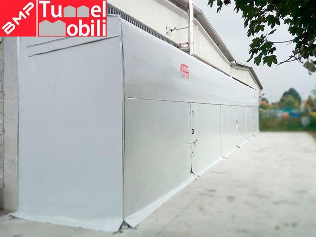 capannoni mobili monopendenza laterale