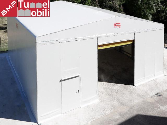 capannoni mobili indipendenti in campania prodotti da Tunnel Mobili