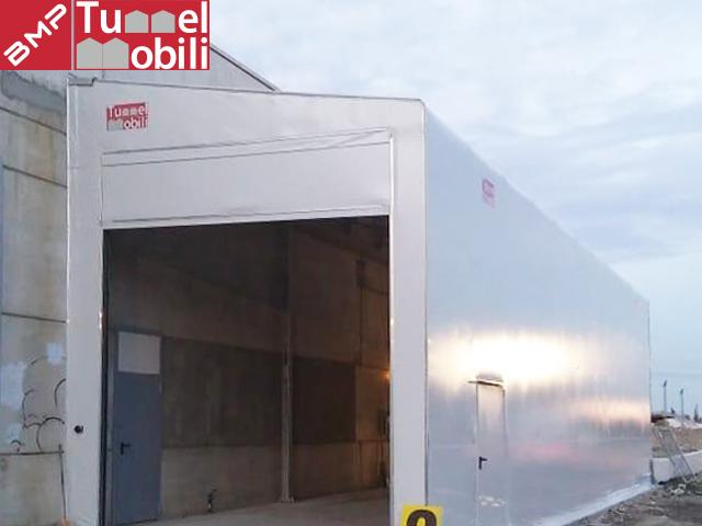 capannoni monopendenza laterale Tunnel Mobili