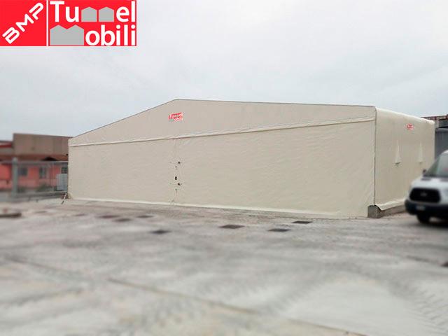 capannoni mobili indipendenti campania prodotti da Tunnel Mobili